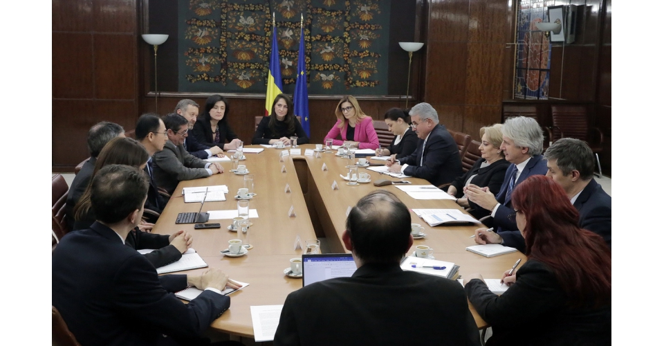 Prime Minister Viorica Dancila meets with IMF delegation