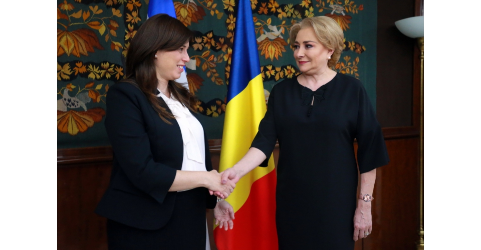 Prime Minister Viorica Dancila received the Deputy Minister of Foreign Affairs of the State of(...)