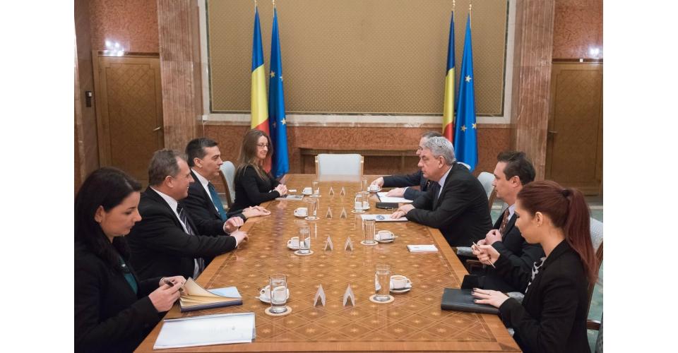 PM Mihai Tudose meets with Ford representatives
