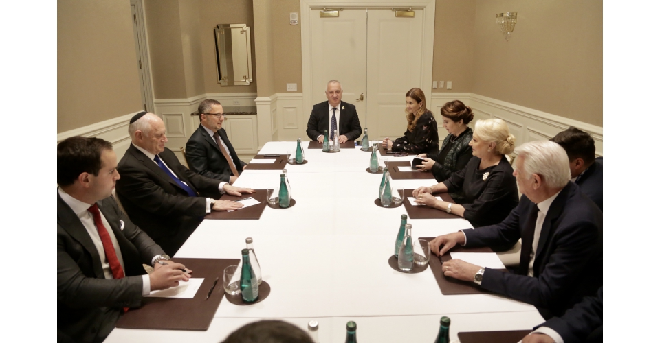 Prime Minister Viorica Dăncilă meets with the President and the Executive Vice President and CEO(...)
