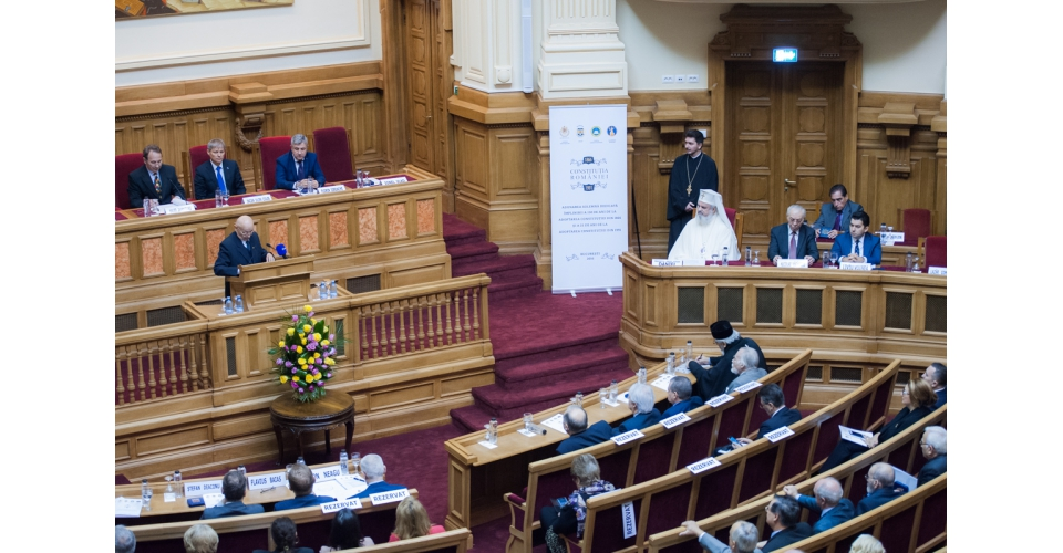 Prime Minister Dacian Ciolos attended the Festive Sitting of the Constitutional Court occasioned by(...)