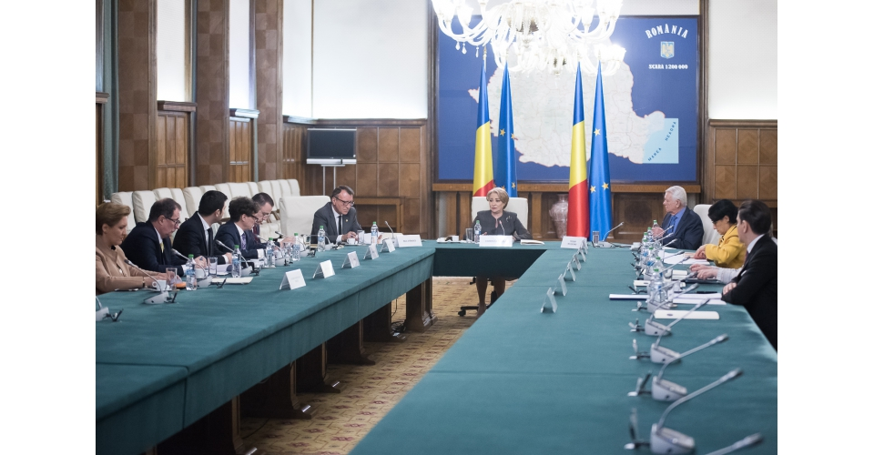 PM Viorica Dancila participates in the first Inter-ministerial Committee dedicated to the(...)