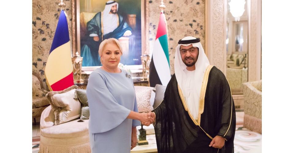 Întrevederea Prim-ministrului Viorica Dăncilă cu Hamdan Bin Zayed Al Nahyan, reprezentantul(...)