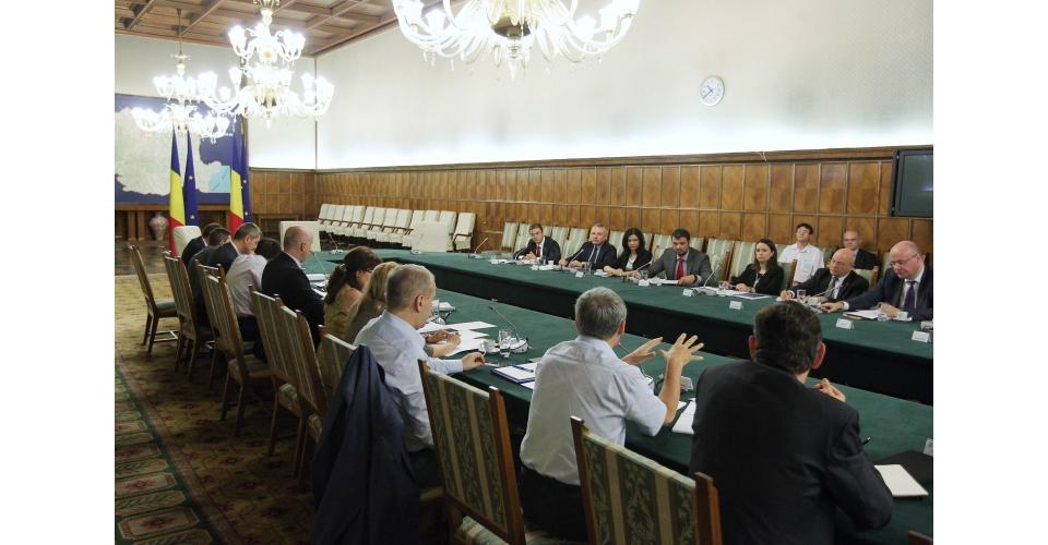 Participare la ședința Coaliției pentru Dezvoltarea României