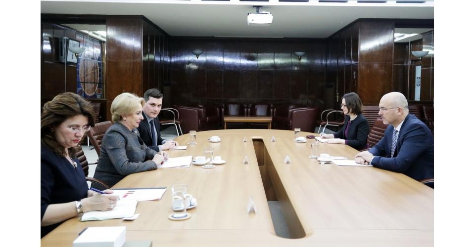 Primirea ambasadorului Republicii Polone în România, Marcin Wilczek, de către premierul Viorica(...)