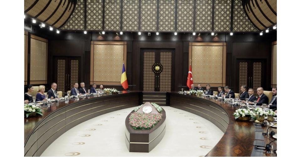 Dineu oficial oferit în onoarea prim-ministrului României, Viorica Dăncilă, de către(...)