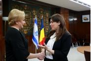 Primirea ministrului adjunct al afacerilor externe al Statului Israel, Tzipi Hotovely, de către prim-ministrul Viorica Dăncilă, la Palatul Victoria