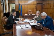 Întâlnire cu ministrul Agriculturii și Dezvoltării Rurale, Petre Daea și cu  Ministrul Dezvoltării Regionale, Administraţiei Publice și Fondurilor Europene, Sevil Shhaideh