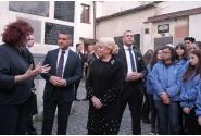 Vizita premierului Viorica Dăncilă la Sinagoga Remuh din Cracovia