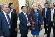 Dineu oferit de către prim-ministrul Viorica Dăncilă în onoarea prim-ministrului R. S. Vietnam, Nguyen Xuan Phuc