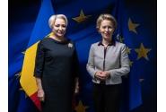 Întrevederea prim-ministrului Viorica Dăncilă cu președintele ales al Comisiei Europene, Ursula von der Leyen