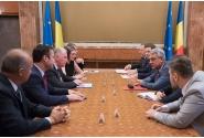 Întrevederea premierului Mihai Tudose cu președintele Comitetului Regiunilor, Karl–Heinz Lambertz