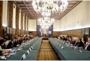 Prime Minister Mihai Tudose attended today's meeting of the National Tripartite Council for Social Dialogue