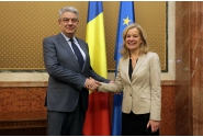 Întrevederea premierului Mihai Tudose cu Ambasadorul Olandei la București, Stella Ronner- Grubačić