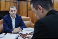 Întâlnire cu ministrul pentru Mediul de Afaceri, Comerț și Antreprenoriat, Florin Nicolae Jianu