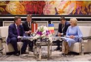 Întrevederea premierului Viorica Dăncilă cu omologul său leton Māris Kučinskis, în marja Summit-ului 16+1 de la Sofia