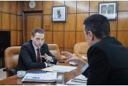 Întâlnire cu ministrul Turismului, Mircea-Titus Dobre