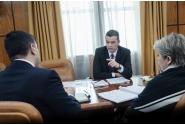 Întâlnire cu ministrul Economiei, Alexandru Petrescu și cu  Ministrul Dezvoltării Regionale, Administraţiei Publice și Fondurilor Europene, Sevil Shhaideh