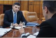 Întâlnire cu ministrul Economiei, Alexandru Petrescu