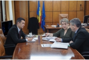Întâlnire cu ministrul Sănătății, Florian-Dorel Bodog și cu Ministrul Dezvoltării Regionale, Administraţiei Publice și Fondurilor Europene, Sevil Shhaideh