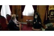 Întrevederea premierului Viorica Dăncilă cu Patriarhul Ierusalimului, Prea Fericitul Teophilos al III-lea
