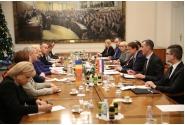 Convorbiri cu președintele Parlamentului Republicii Croația, Gordan Jandroković
