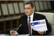 Declarații susținute de premierul Victor Ponta la începutul ședinței de guvern