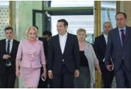 Primirea prim-ministrului Republicii Elene, Alexis Tsipras, a prim-ministrului Republicii Bulgaria, Boiko Borisov, și a preşedintelui Republicii Serbia, Aleksandar Vučić