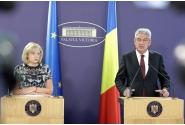 Declarații de presă susținute de premierul Mihai Tudose și comisarul european pentru politică regională, Corina Creţu
