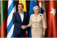 Întâmpinarea premierului Republicii Elene, Alexis Tsipras