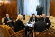 Consultări în format cvadrilateral cu participarea prim-ministrului României, președintelui Republicii Serbia, prim-ministrului Republicii Bulgaria și prim-ministrului Republicii Elene