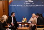 Întrevederea premierului Viorica Dăncilă cu președintele Republicii Serbia, Aleksandar Vučić