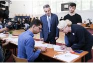 Participarea premierului Viorica Dăncilă la votul pentru alegerile europarlamentare