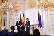 Declaraţii de presă comune susţinute de premierul Sorin Grindeanu şi cancelarul Austriei, Christian Kern
