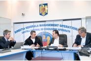 Întâlnire de lucru, la sediul Ministerului Afacerilor Interne, pentru organizarea procesului de votare