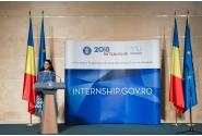 Ceremonia de încheiere a Programului Oficial de Internship al Guvernului României, ediţia 2018