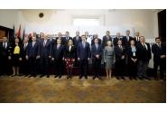 Participare la cina oficială oferită de prim-ministrul Republicii Croația, Andrej Plenković, în onoarea șefilor de delegații ale statelor membre ICE
