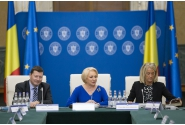 Întrevederea premierului Viorica Dăncilă cu secretarul general al Comisiei Europene, Martin Selmayr, și cu o delegație de reprezentanți oficiali ai Comisiei Europene. Participă mai mulți membri ai Guvernului