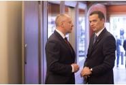Primirea premierului Sorin Grindeanu de către Serghei Stanishev, președintele PES