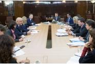 Întâlnirea secretarului de stat Raed Arafat cu oficiali ai Comisiei Europene