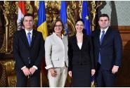 Întâlnirea premierului Sorin Grindeanu cu guvernatorul Landului Austria Inferioară, Johanna Mikl-Leitner