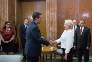 Primirea de către prim-ministrul Viorica Dăncilă a delegației Congresului SUA condusă de Devin Nunes, președintele Comitetului Permanent pentru Informații din Camera Reprezentanților a SUA
