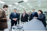 Vizită la compania AEM Luxten din Timișoara