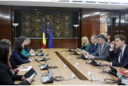 Vice Prime Minister Ciolacu met with the European Commissioner for Digital Economy and Society, Mariya Gabriel