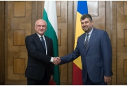 Vice Prime Minister Ciolacu met with the Chairperson of the National Assembly of the Republic of Bulgaria, Dimitar Borisov Glavchev