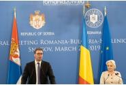 Declarații de presă comune ale prim-ministrului României, Viorica Dăncilă, și președintelui Republicii Serbia, Aleksandar Vučić