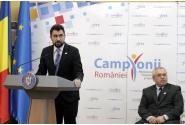 """Lansarea Programului național """"Campionii României în școală, liceu și universitate"""""""