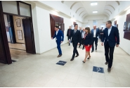 """Întâlnire cu conducerea Universității """"Eftimie Murgu"""" din Reșița"""