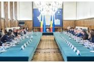 Entrevue du Premier ministre  Mihai Tudose avec les membres de la Coalition nationale pour la modernisation de la Roumanie