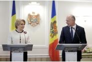 Conferinţă de presă comună susținută de prim-ministrul României, Viorica Dăncilă, şi omologul său din Republica Moldova, Pavel Filip